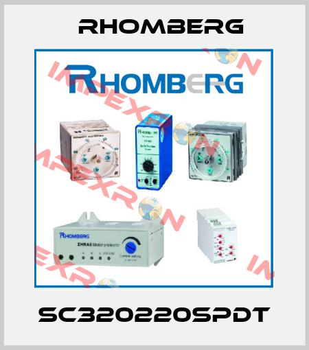 Rhomberg-SC320220SPDT (220VAC 0-1S) price