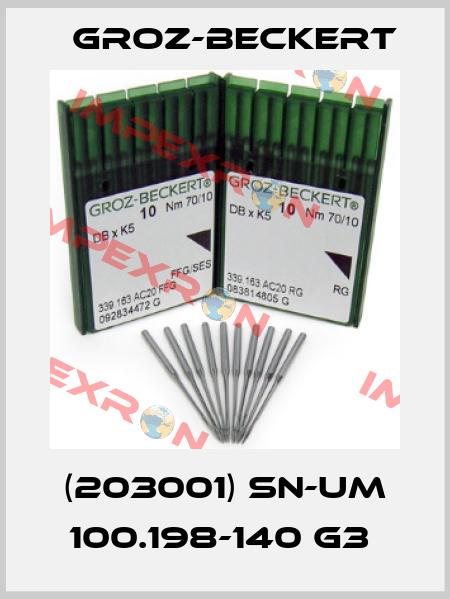 Groz-Beckert-(203001) SN-UM 100.198-140 G3  price