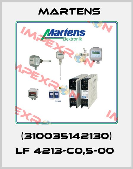 Martens-(310035142130) LF 4213-C0,5-00  price