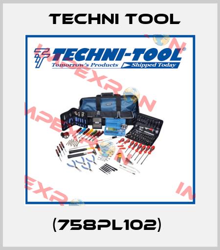 Techni Tool-(758PL102)  price