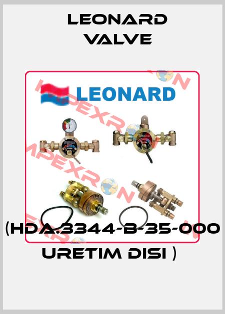 LEONARD VALVE-(HDA.3344-B-35-000 URETIM DISI )  price