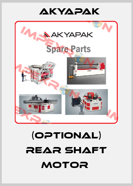 Akyapak-(OPTIONAL) REAR SHAFT MOTOR  price