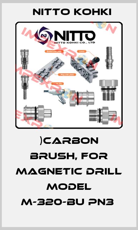 Nitto Kohki-)CARBON BRUSH, FOR MAGNETIC DRILL model M-320-BU PN3  price