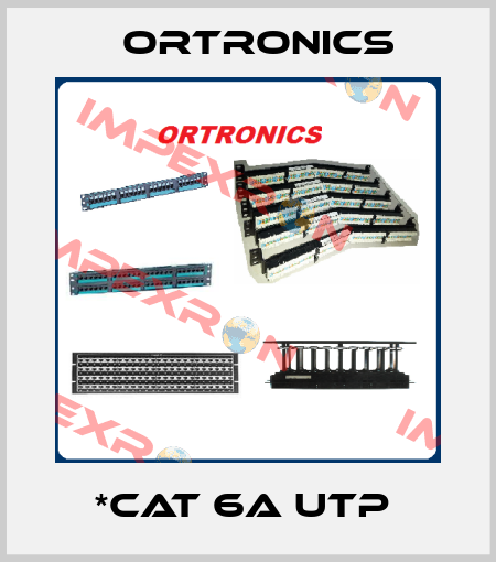 Ortronics-*CAT 6A UTP  price