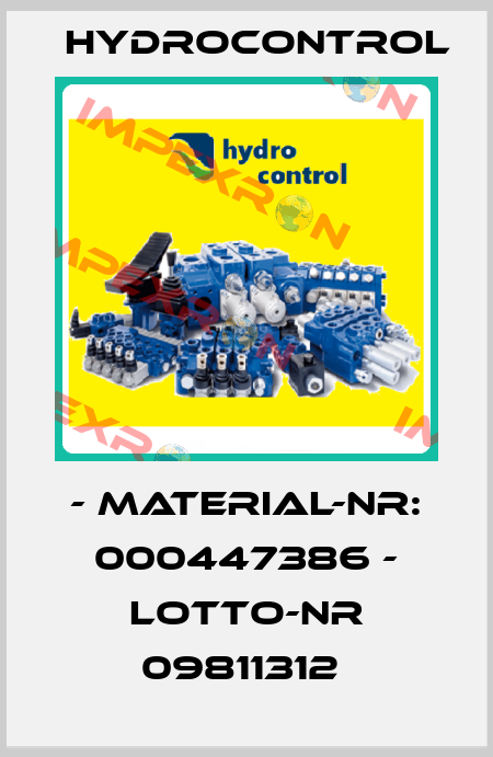 Hydrocontrol-- MATERIAL-NR: 000447386 - LOTTO-NR 09811312  price